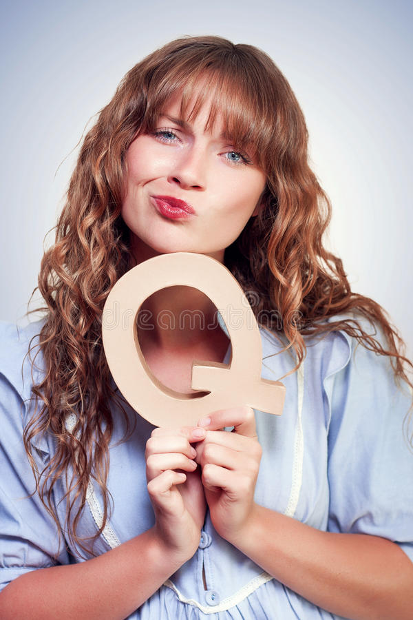 Download Thoughtful Woman With A Question Stock Image - Image: 26128047