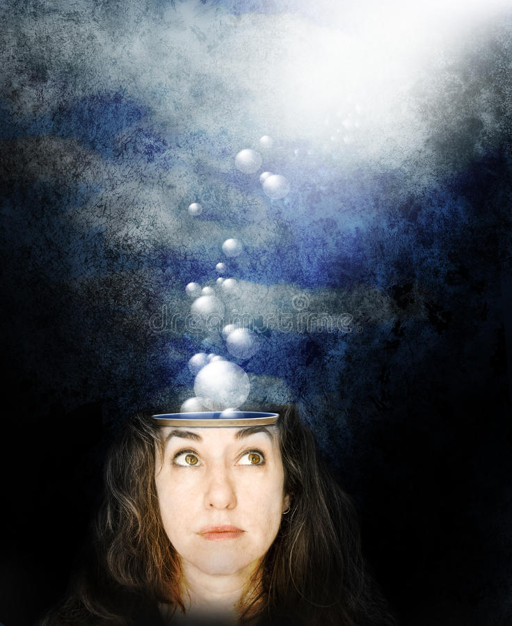 Thoughts royalty free stock photo