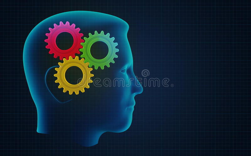Download Thoughts stock illustration. Image of education, invention - 28269543