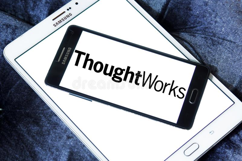 ThoughtWorks company logo stock image