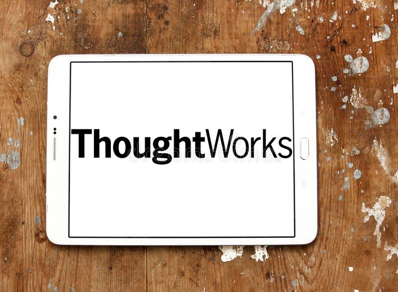ThoughtWorks company logo royalty free stock images