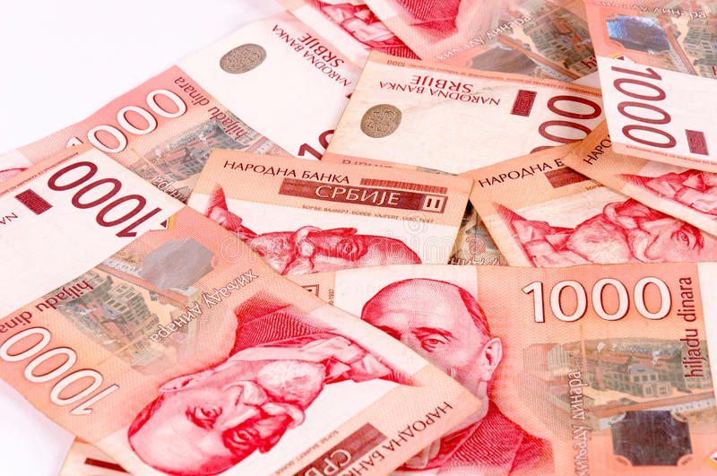 Download Thousand dinars stock image. Image of bunch, isolated - 25773999
