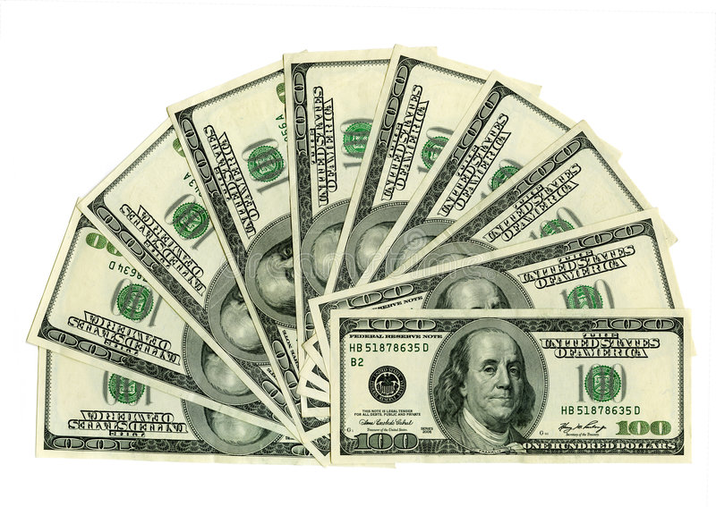 Download Thousand dollars stock image. Image of dollar, economy - 6133125