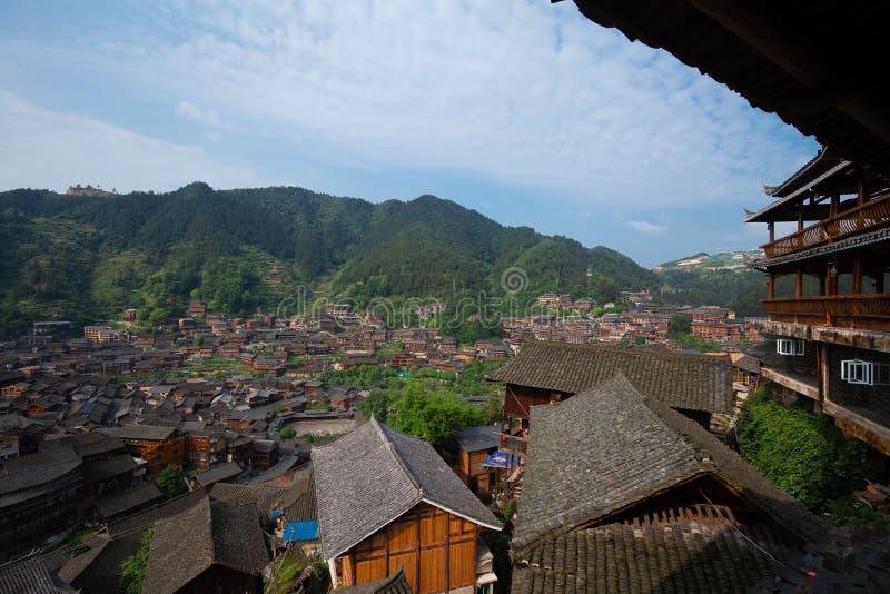 Thousand miao village stock photos