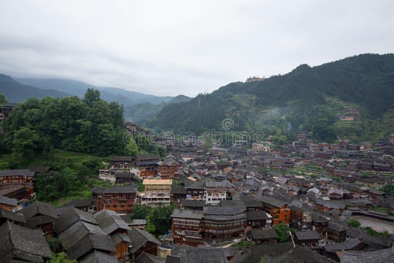 Thousand miao village stock photo