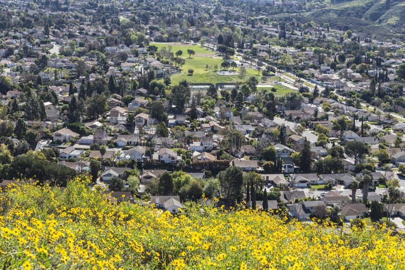 Thousand Oaks Kalifornien royaltyfri fotografi