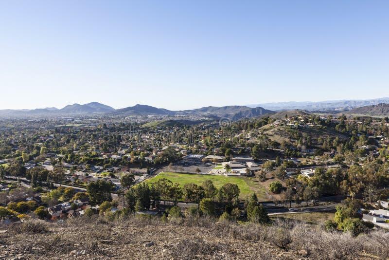 Thousand Oaks in Ventura County California stockbilder