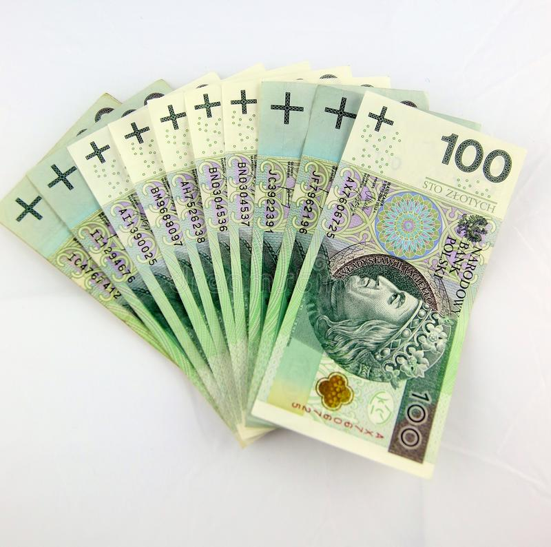 Thousand PLN's stock image