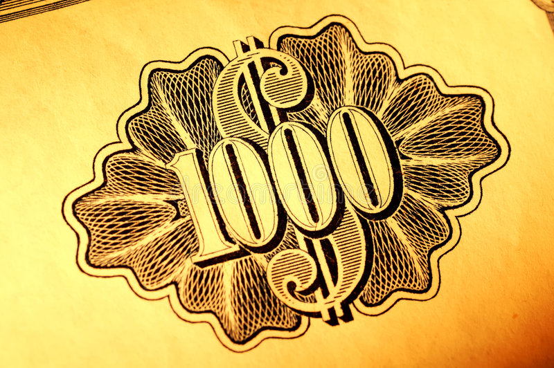 Download Thousand Shares Royalty Free Stock Photo - Image: 359325