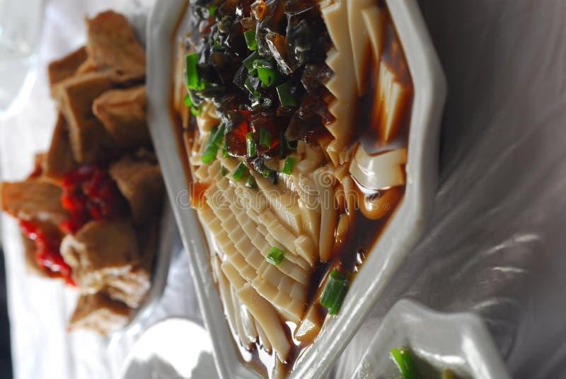 Thousand year egg tofu stock photo