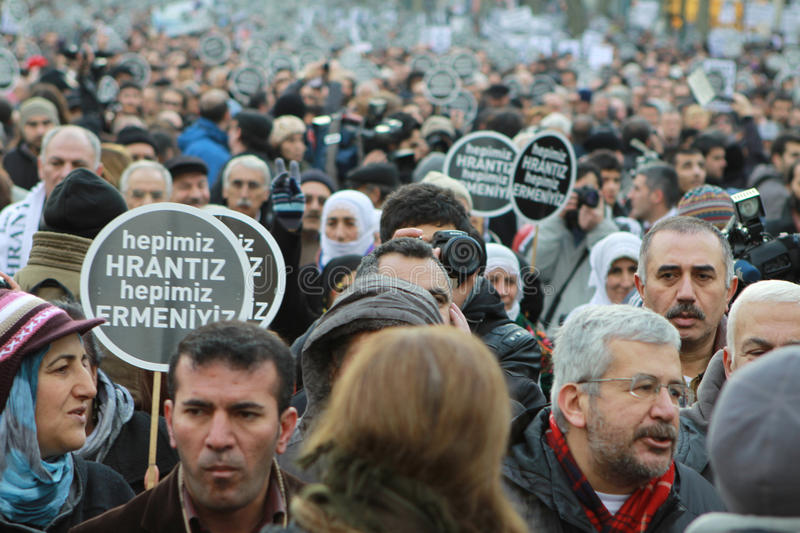 Download Thousands Mark Hrant Dink's Death 5 Years On Editorial Photo - Image: 23849736