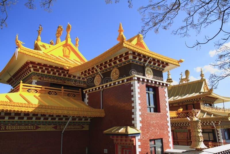Thrangu Tashi Yangtse Moastery royalty free stock images