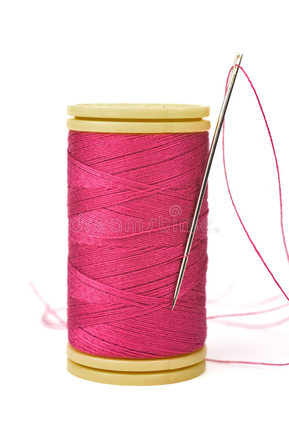 Thread And Needle Royalty Free Stock Photo