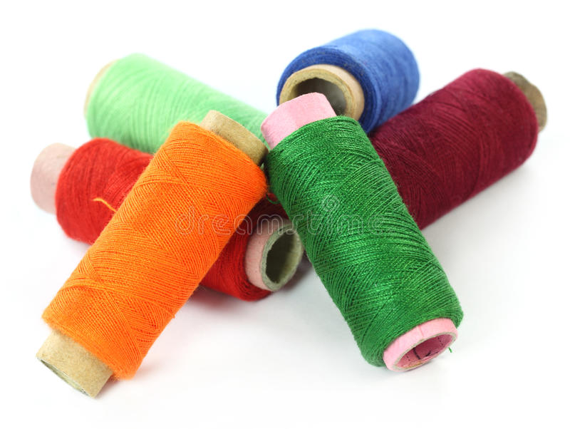Download Thread reels stock photo. Image of object, industry, stitch - 22480904