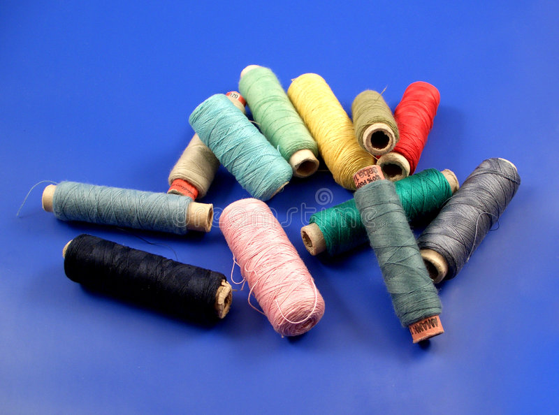 Thread roll....(4) royalty free stock images