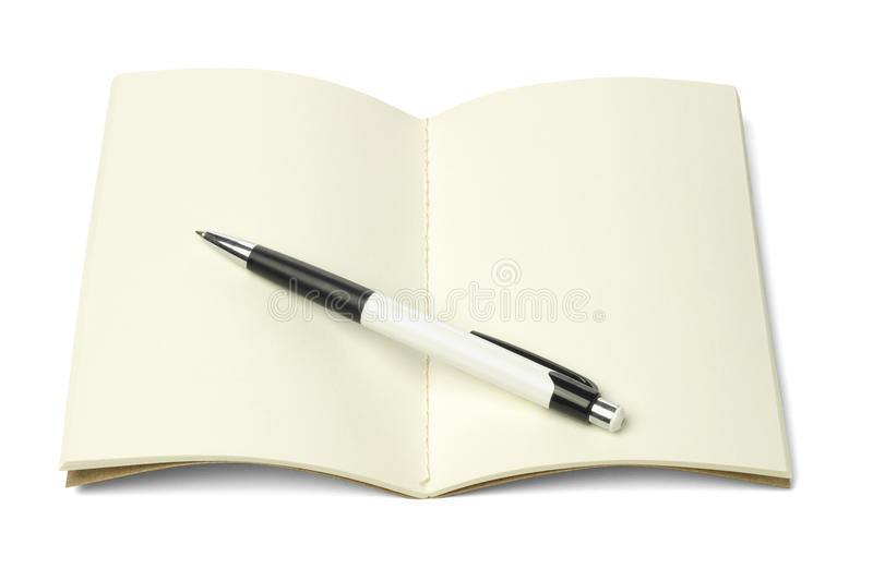 Download Thread Sew Book And Ball Point Pen Stock Image - Image: 24805297