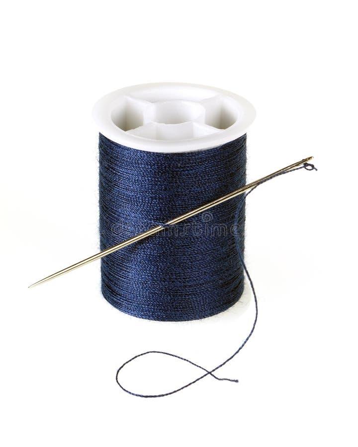 Threaded Needle Stock Photography
