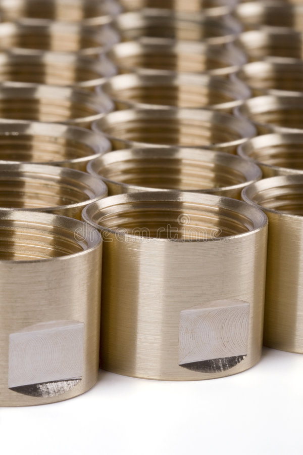 Download Threaded pipe fittings stock photo. Image of maintenance - 7104060