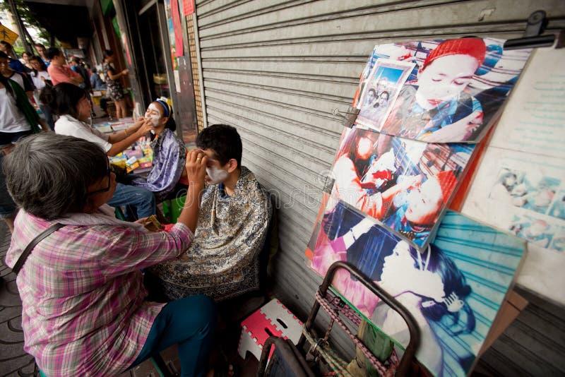 Download Threading In Chinatown Bangkok. Editorial Stock Image - Image: 23931429
