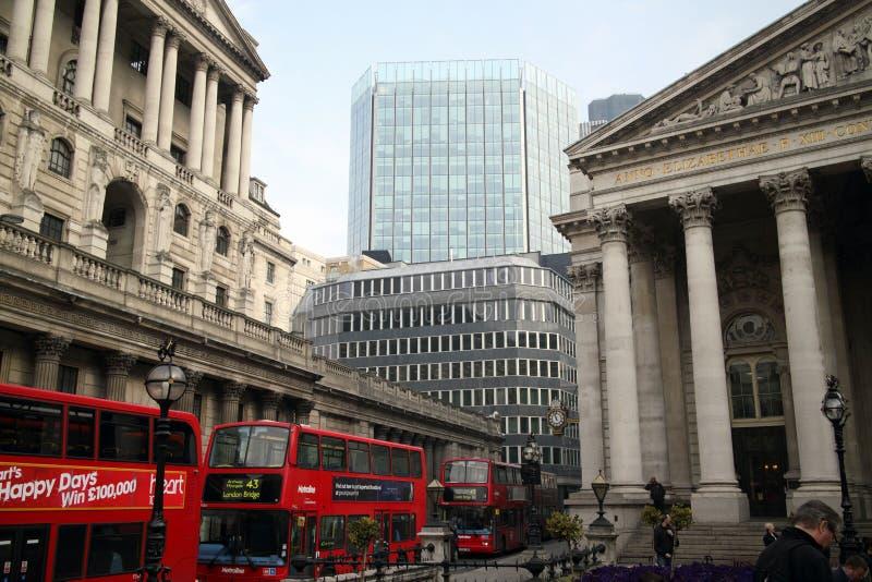 Threadneedle Street Londres photographie stock