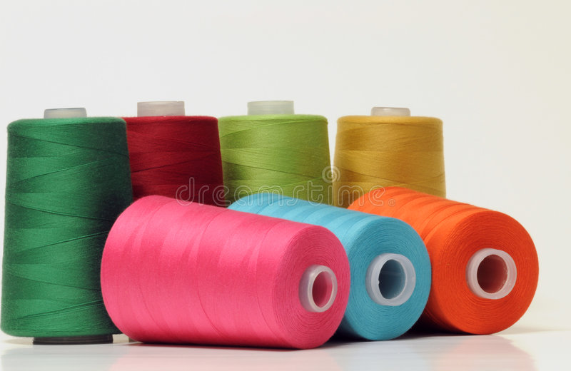 Threads royalty free stock images