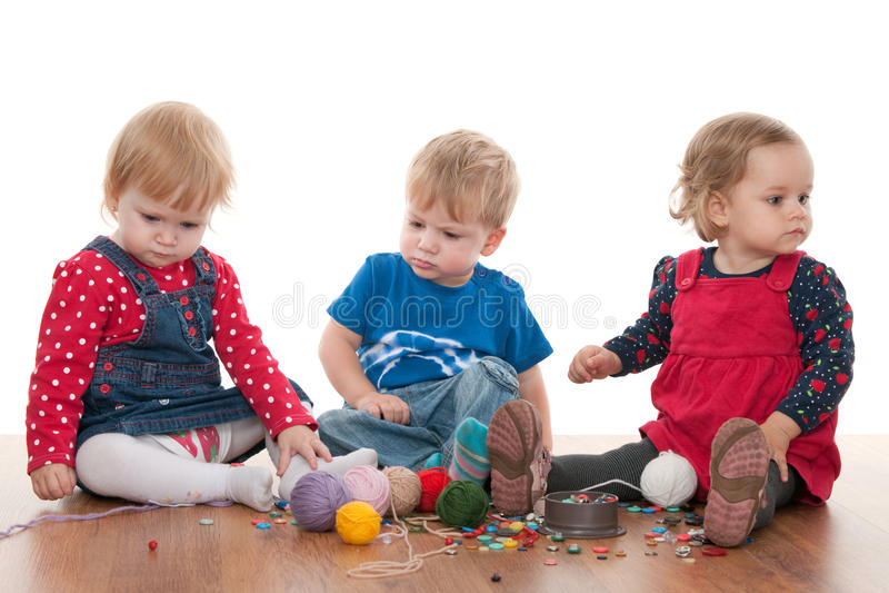 Download Threads Of Children Friendship Stock Image - Image: 17177779