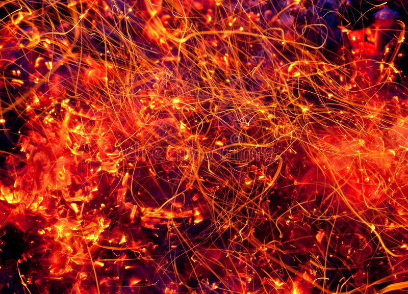Download Threads of fire stock photo. Image of fiery, burnt, nature - 26541856