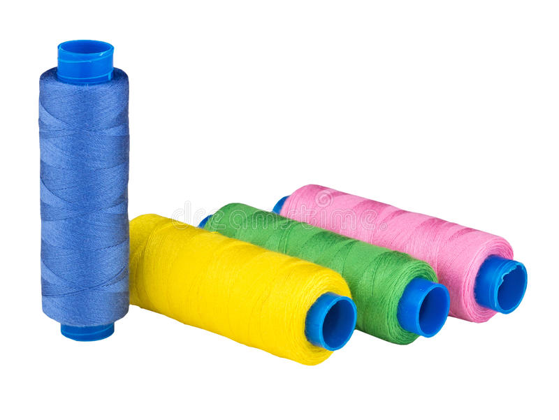 Threads varicoloured