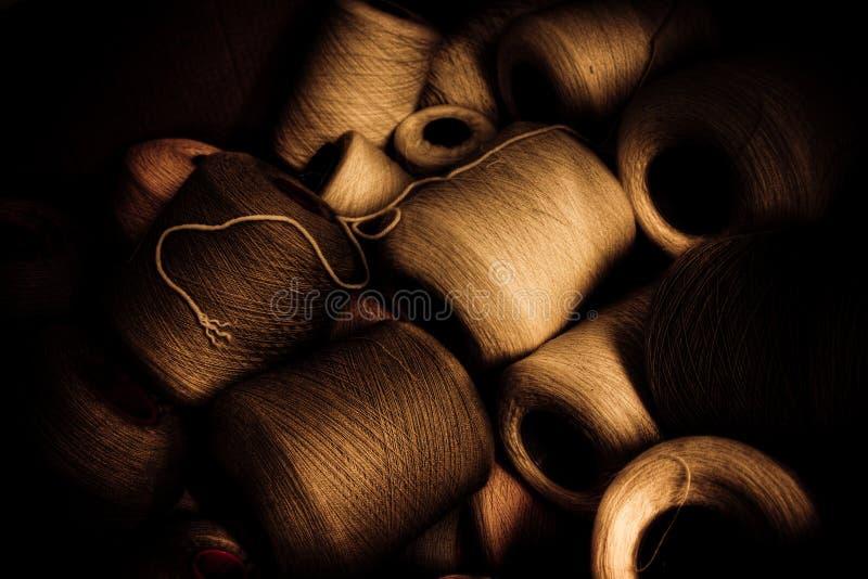 Threads of Yarn royalty free stock photos