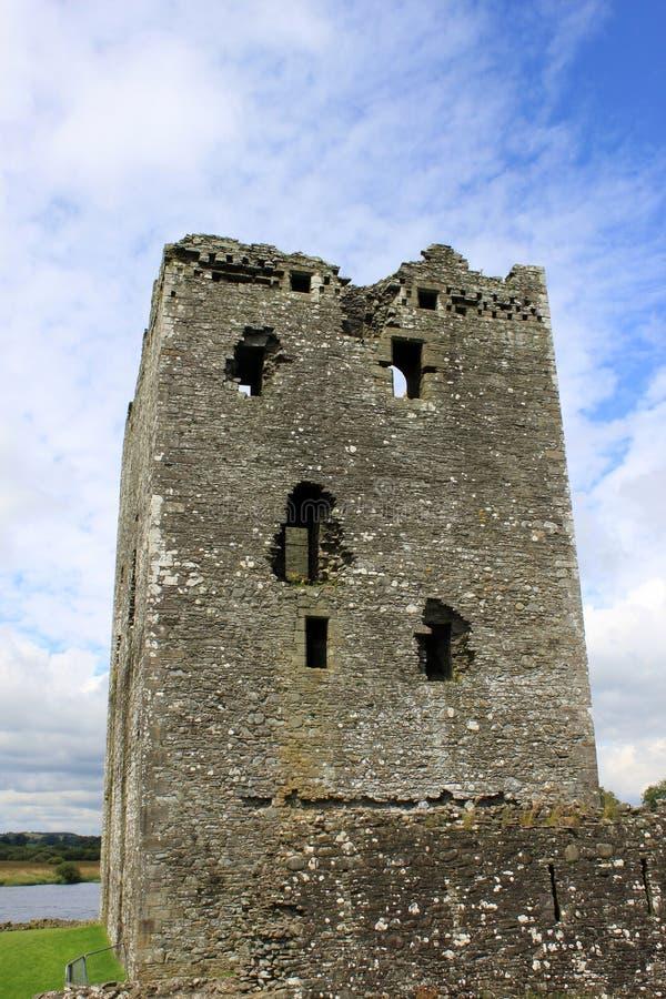 Threave Schloss nahe Schloss Douglas, Schottland lizenzfreie stockbilder