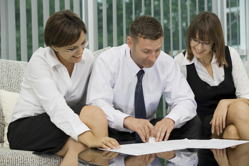 Download Three stock image. Image of businesspeople, entrepreneur - 11265587