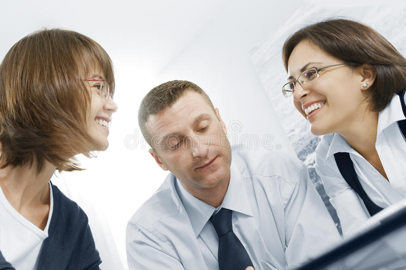 Download Three stock image. Image of employee, businessgroup, people - 12039639