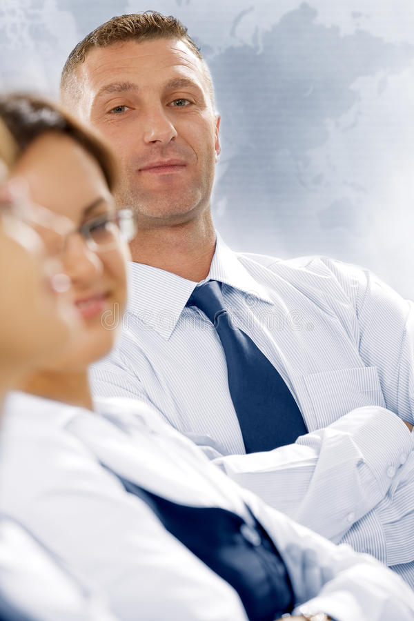 Download Three stock photo. Image of manager, collaboration, businesswoman - 12235516