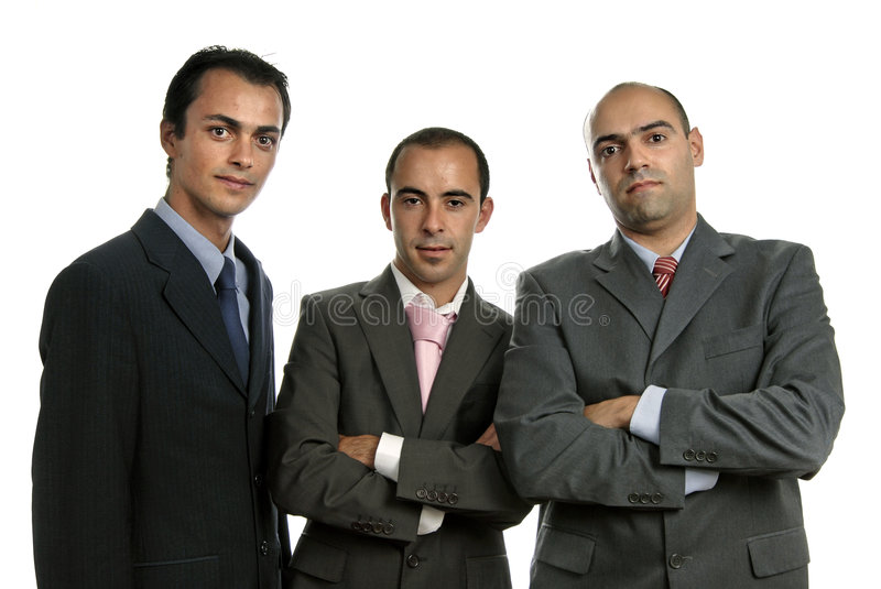Download Three stock photo. Image of businessmen, executive, environment - 5020052