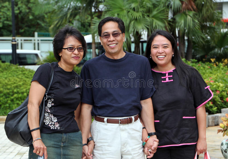 Download Three Adults stock image. Image of filipina, relationship - 22242861