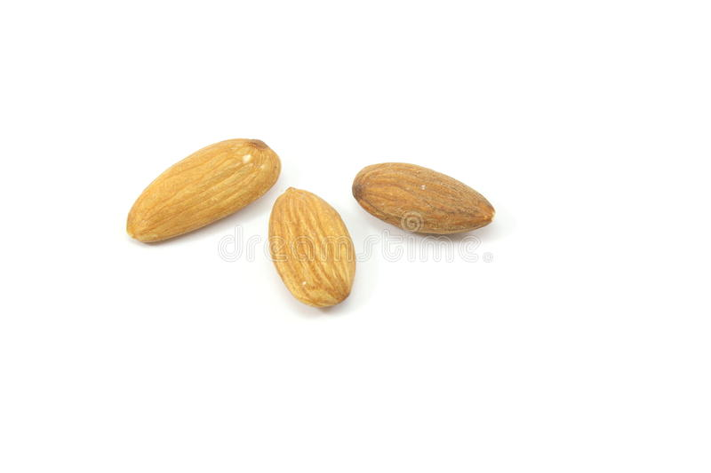 Download Three Almonds stock image. Image of edible, treat, food - 10335633