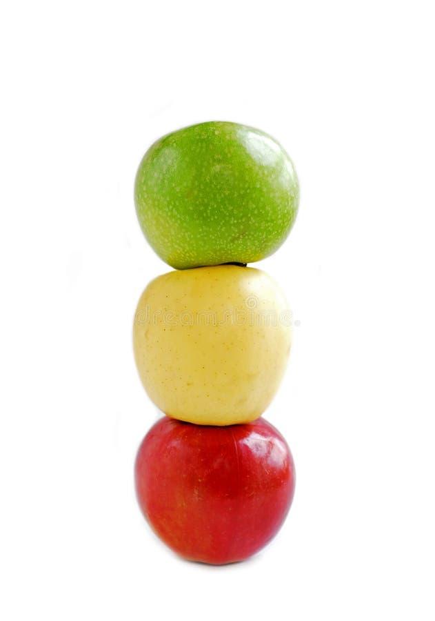 Free Three Apples Stock Image - 608701