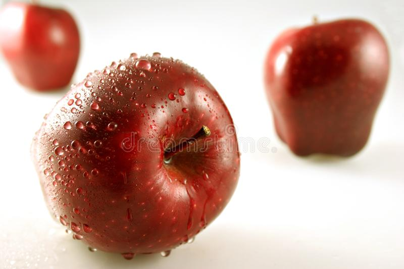 Three Apples With Shallow Depth of Field