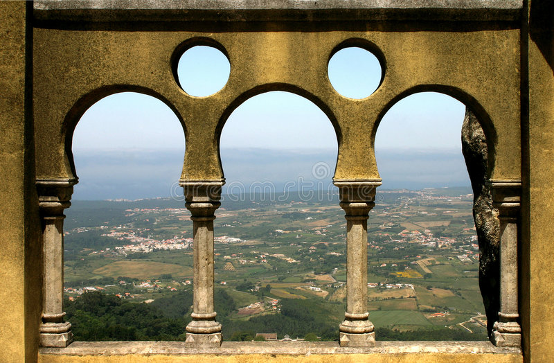 Download Three Arches stock image. Image of castle, wall, countryside - 506235