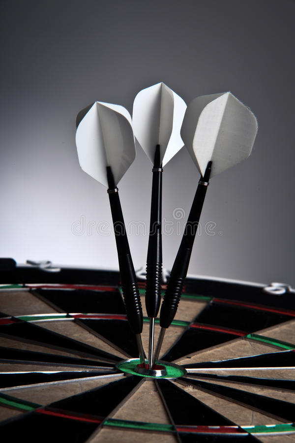 Download Three Arrows In The Middle Of The Target Stock Image - Image: 17173349
