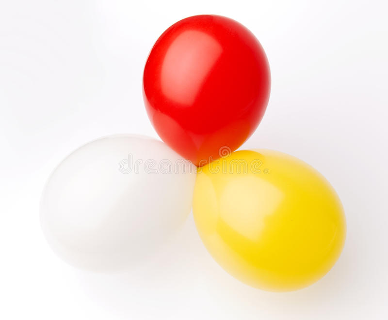Download Three balloons stock image. Image of objects, celebration - 30218429