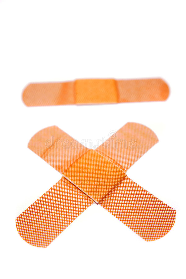 Download Three Bandages Royalty Free Stock Image - Image: 6420746