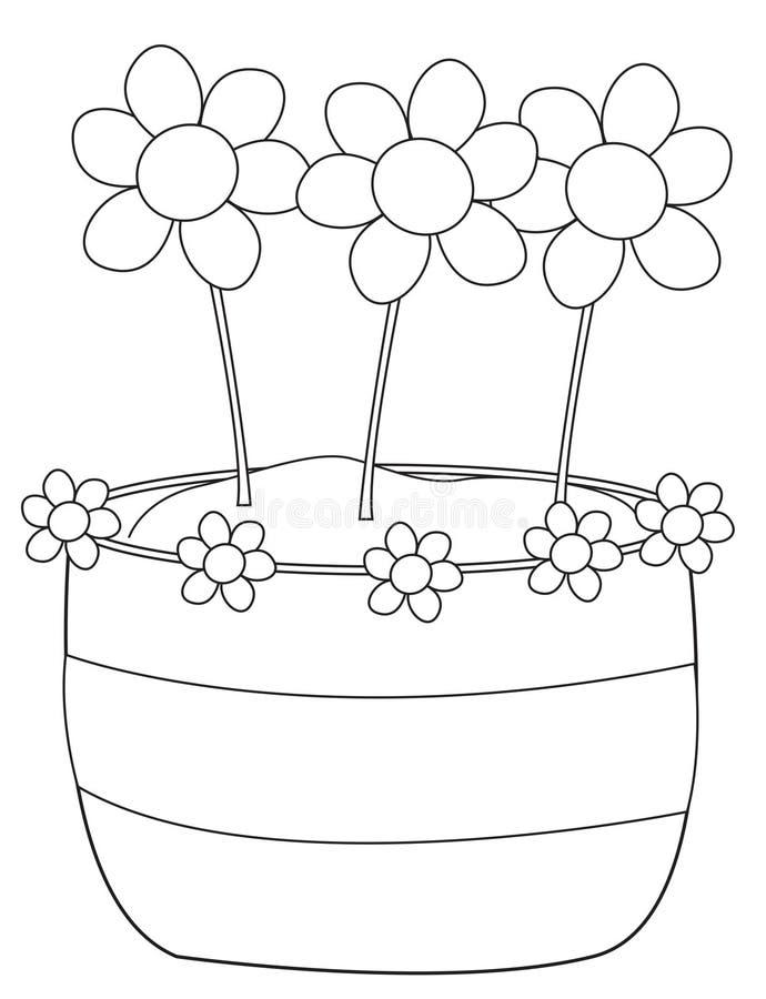 Three Beautiful Flowers vector illustration