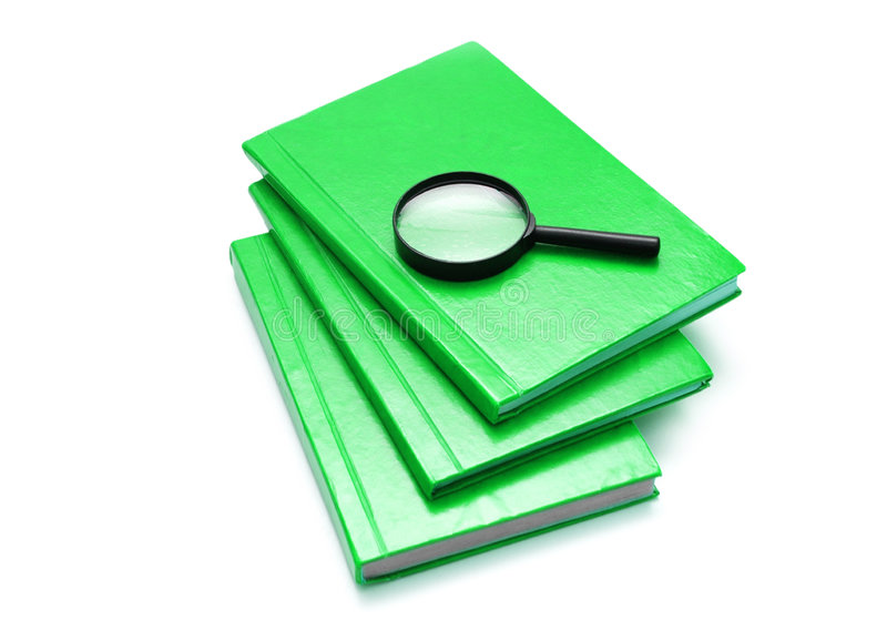 Download Three books stock image. Image of lens, isolated, books - 7905273