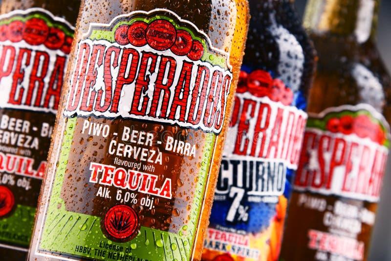 Three Bottles Of Desperados Beer Editorial Image Image Of Editorial Pivovara 110208255