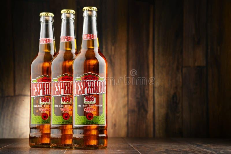 Three Bottles Of Desperados Beer Editorial Photo Image Of Logo Bottle 74933531