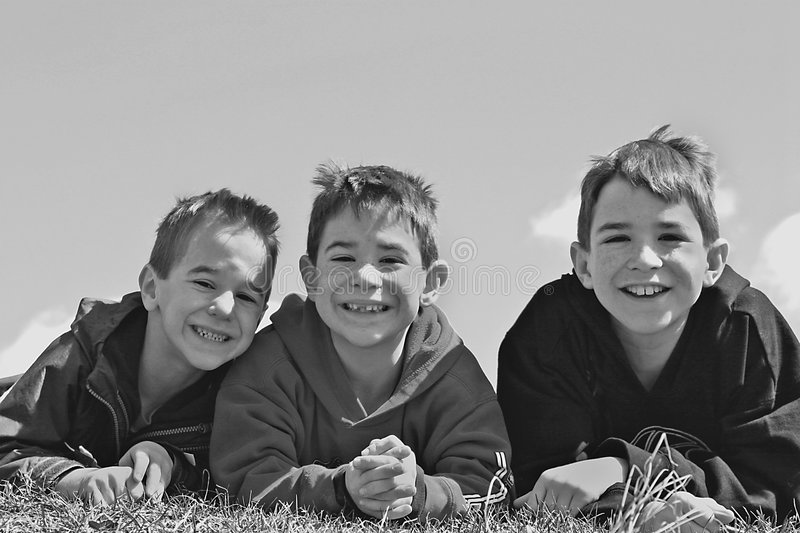 Download Three Boys Royalty Free Stock Images - Image: 3106519
