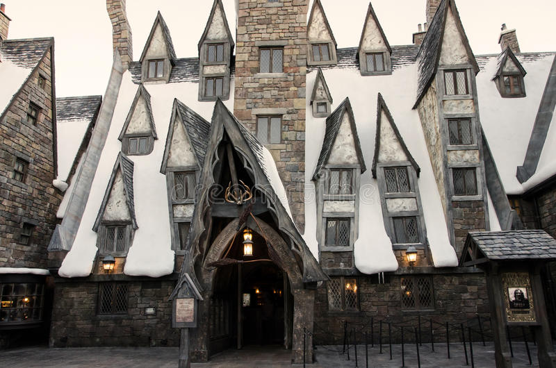 The Three Broomsticks In Harry Potter World Orlando Editorial Photo Image