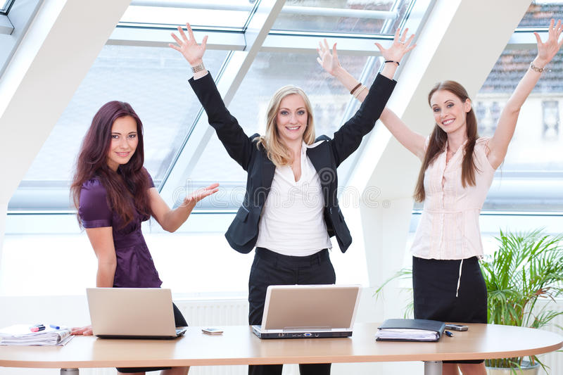 Download Three business women stock image. Image of businesswoman - 14860435