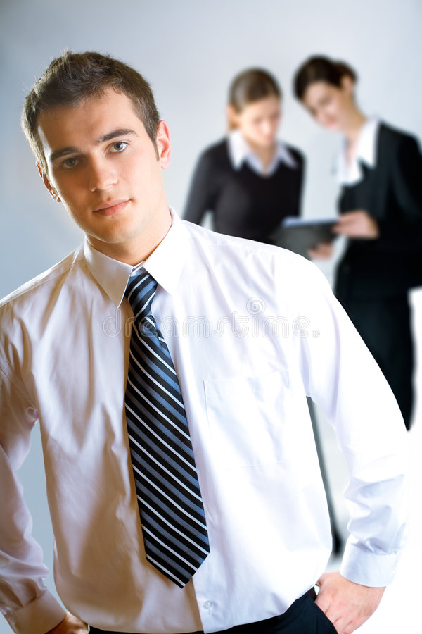 Download Three Businesspeople Stock Photos - Image: 3139283